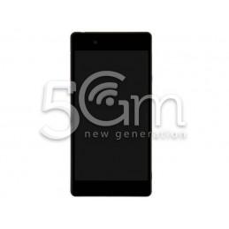 Display Touch Nero + Frame Xperia Z3+ E6533 - E6553