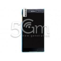 Display Touch Nero + Frame Acqua Green Xperia Z3+ E6553