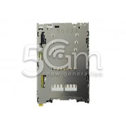 Lettore Micro SD e Nano Sim Card Xperia Z5 Premium E6853