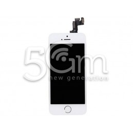 Display Touch Bianco Full Parts iPhone 5S No Logo Flex