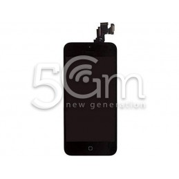 Display Touch Nero Full Parts iPhone 5C No Logo