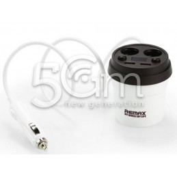 Remax Coffee Cup CR-2XP Car Charger 2Usb iPhone 8