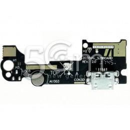 Connettore Di Ricarica + Small Board Asus ZenFone 3 Laser ZC551KL Z01BD
