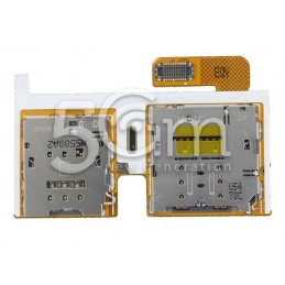Lettore Sim Card + Memory Card Flat Cable Samsung SM-T715N