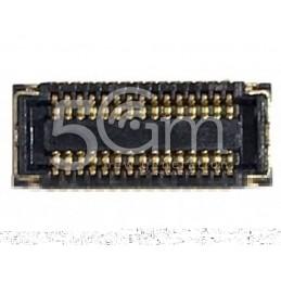 Connettore 15 Pin Su Scheda-Madre Connessione Touch Screen iPhone 4-4S