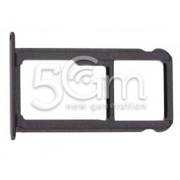 Supporto Sim Card + Micro SD Nero Huawei  Mate 9