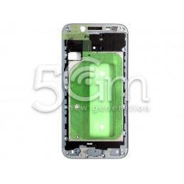Frame LCD Silver-Blue Samsung SM-J730