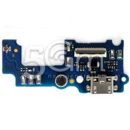 Connettore Di Ricarica + Small Board Huawei Y6 PRO - Honor 4C Pro
