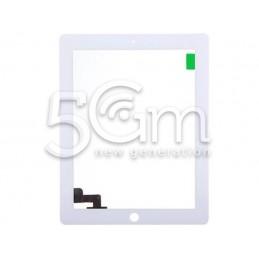 Touch Screen Bianco + Biadesivo Ipad 2 No Logo