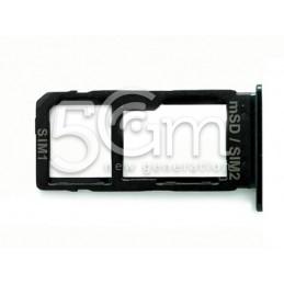 Supporto Dual Sim Card/Micro SD Nero HTC U Ultra