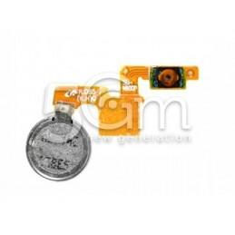 Tasto Accensione + Vibrazione Flat Cable Samsung N9005