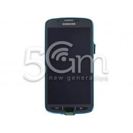 Display Touch Nero + Frame Samsung i9295 x Ver Blu