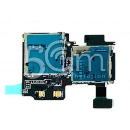 Lettore Sim Card + Memory Card Samsung I9295