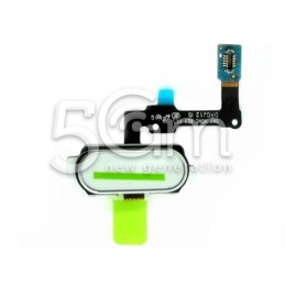 Home Button White Flat Cable Samsung SM-G610F J7 Prime