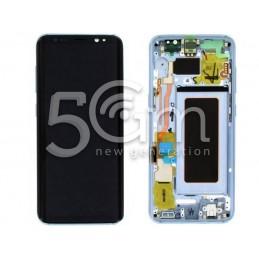 "Display Touch Black + Frame Samsung SM-G950 S8 ""Blue"""