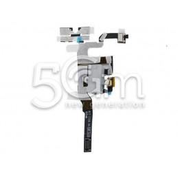 Jack Audio Bianco Flat Cable iPhone 4S No Logo