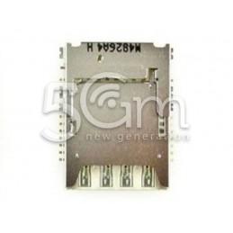 Lettore Memory Card + Sim Card Samsung SM-J5