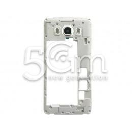 Middle Frame Silver Samsung SM-J510
