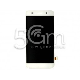 Display Touch Bianco + Frame Huawei Y6