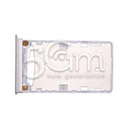 Supporto Dual Sim Card/SD Card Bianco Xiaomi Mi Max