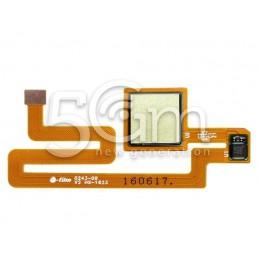 Fingerprint Gold Flat Cable Xiaomi Mi Max
