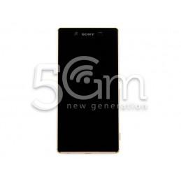 Display Touch Nero + Frame Copper Xperia Z3+ E6553
