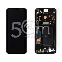 Display Touch Nero + Frame Samsung SM-G965 S9 Plus