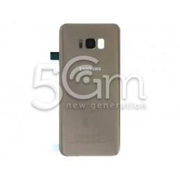 Retro Cover Gold Samsung SM-G955 S8 Edge