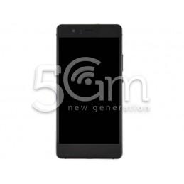 Display Touch Nero + Frame Huawei P9 Lite
