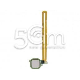 Fingerprint Silver Flat Cable Huawei Nova Plus