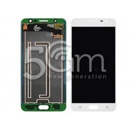 Display Touch White Samsung SM-G610F J7 Prime