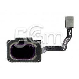 Tasto Home Purple Flat Cable Samsung SM-G960 S9
