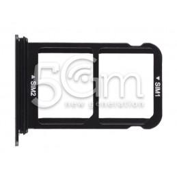 Supporto Dual Sim Nero Huawei P20