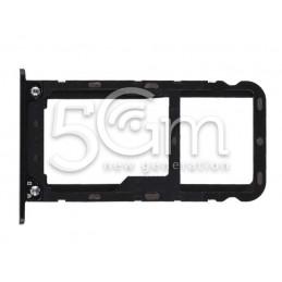 Supporto Sim Card + Micro SD Nero Xiaomi Redmi 5 Plus