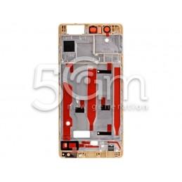 Frame Lcd Gold Huawei P9