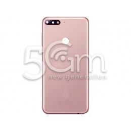 Retro Cover Pink Huawei Y7 2018