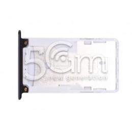 Supporto Dual Sim + Micro SD Nero Xiaomi Redmi Note 4