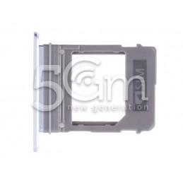 Supporto Sim Card Light Blue Samsung SM-A720F A7 2017