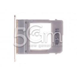 Supporto Sim Card Gold Samsung SM-A530 A8 2018