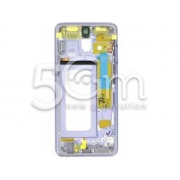 Frame Lcd Violet Samsung SM-A530 A8 2018