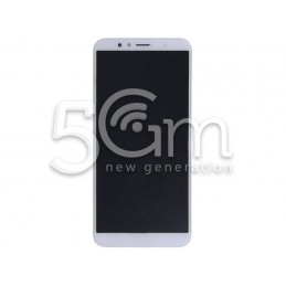 Display Touch Bianco + Frame Huawei Y6 2018