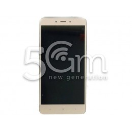 Display Touch Gold + Frame Xiaomi Redmi Note 4