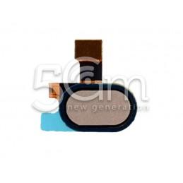 Tasto Home Gold Flat Cable Motorola Moto E4 (XT1760)