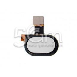 Tasto Home White Flat Cable Motorola Moto E4 (XT1760)