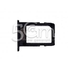 Supporto Sim Card Nero Samsung SM-A600 A6 2018