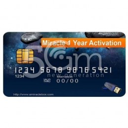 1 Year Renewal for Miracle...